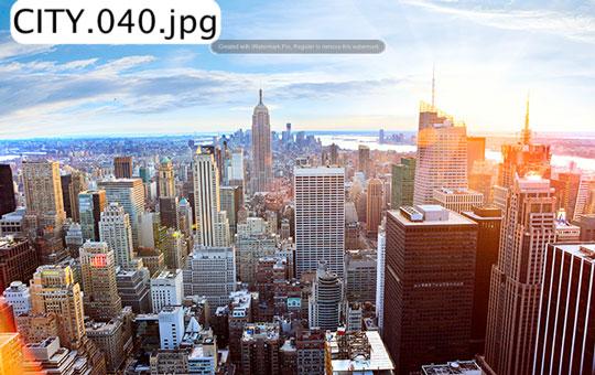 tranh dán tường thành phố ct 040