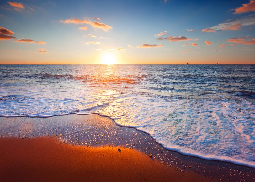 tranh dán tường cảnh biển 169
