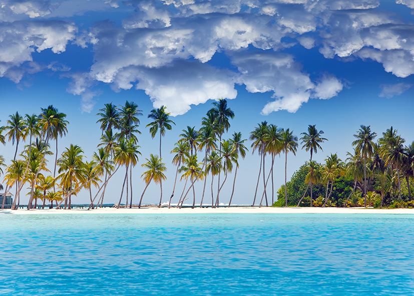 tranh dán tường cảnh biển 179