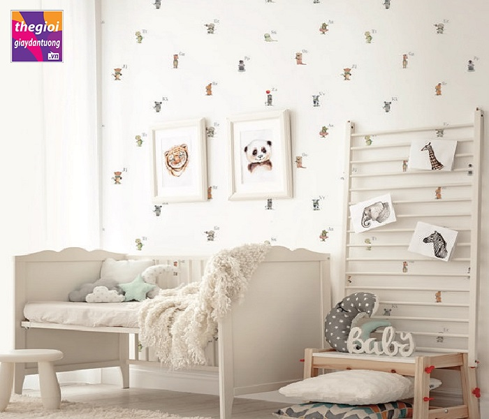 giấy dán tường trẻ em A5100-1