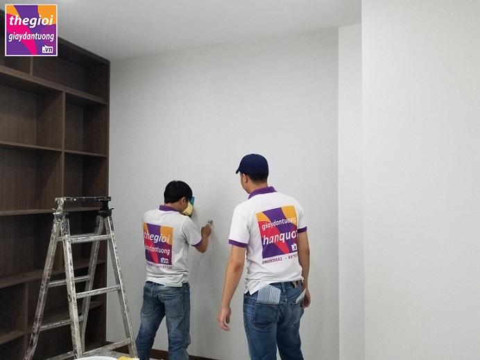 Giấy dán tường văn phòng